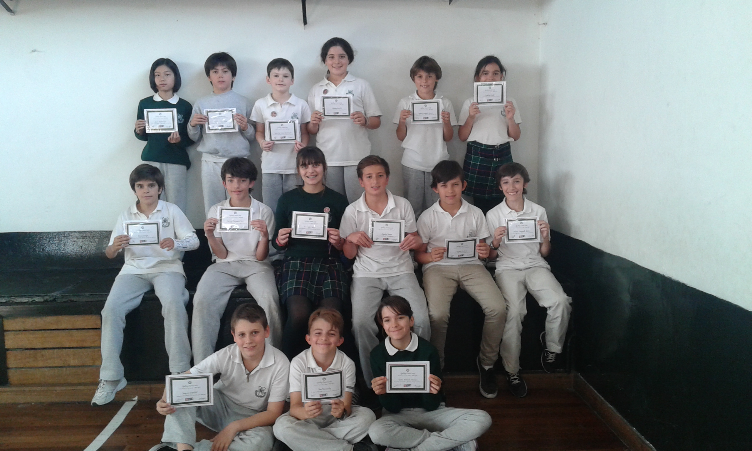 Spelling Contest 2015 - Mar del Plata Day School Write right!
