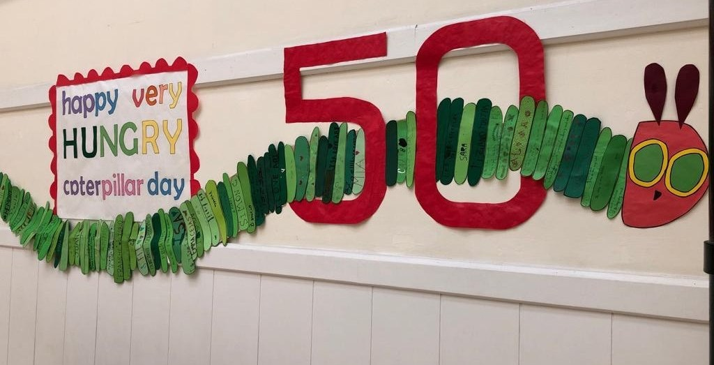 Happy Very Hungry Caterpillar Day!